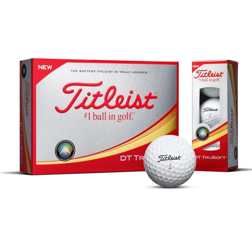 Golfball Titleist DT TruSoft