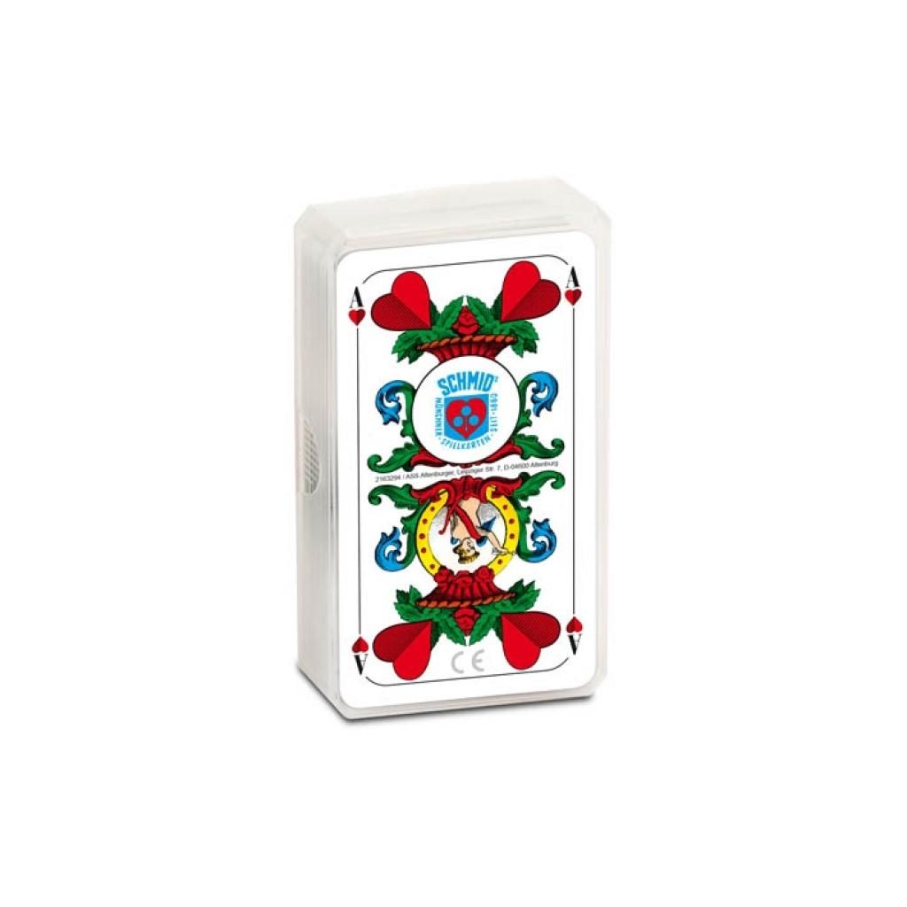 Spielkarten Tarock Schafkopf bayerisches Bild