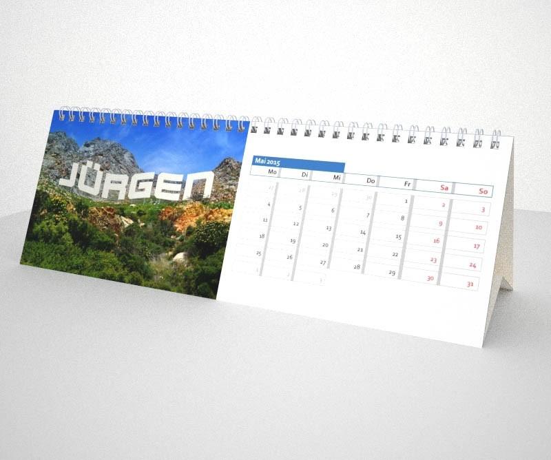 kalender personalisiert
