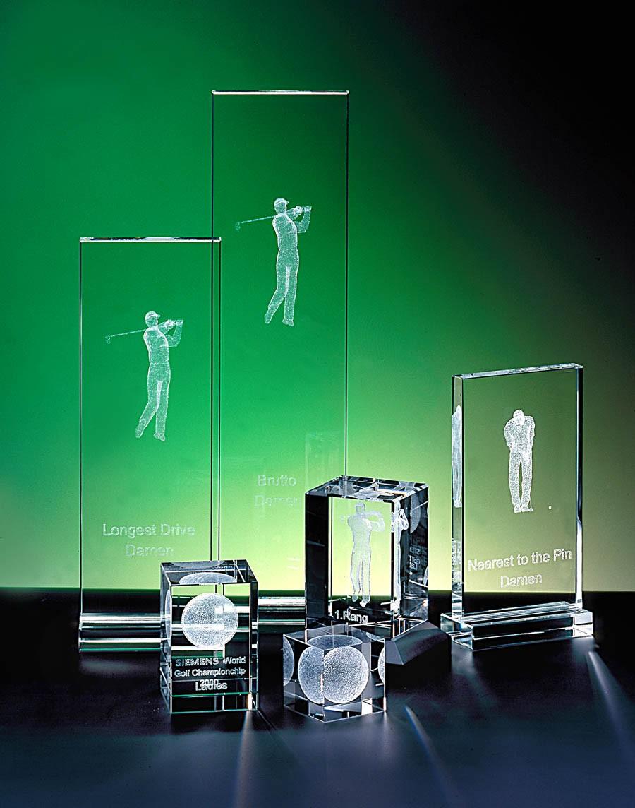 Kristallglas Pokal