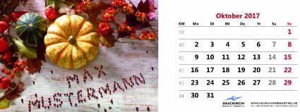 16_104 Tischkalender quer