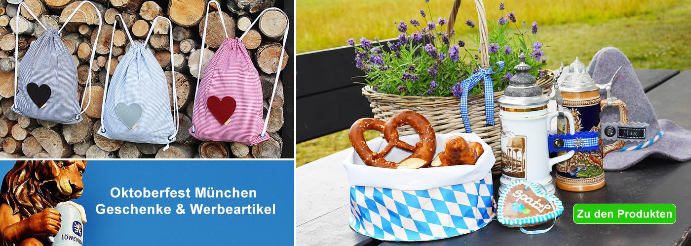 Oktoberfest Geschenke und Werbeartikel München