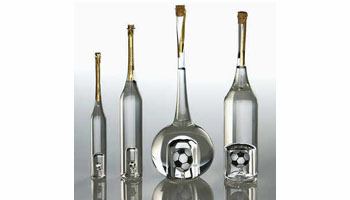 Grappaflaschen