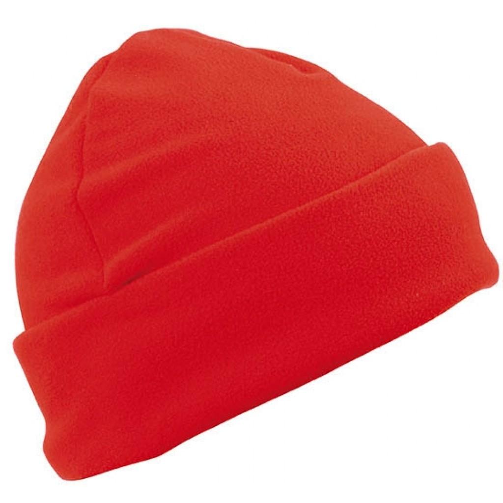Fleece Mütze Cap bestickt