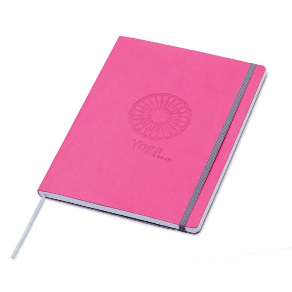 Notizbuch Soft Touch mit Werbung