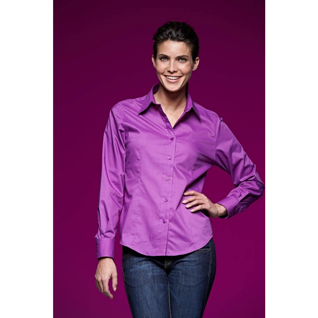 Bluse für Damen mit Werbeanbringung