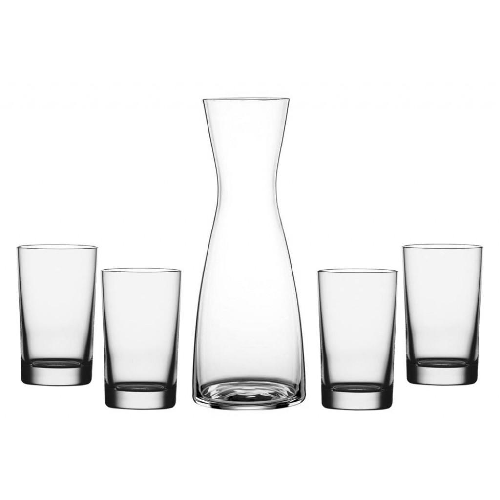 Wasserkaraffe mit 4 Gläser