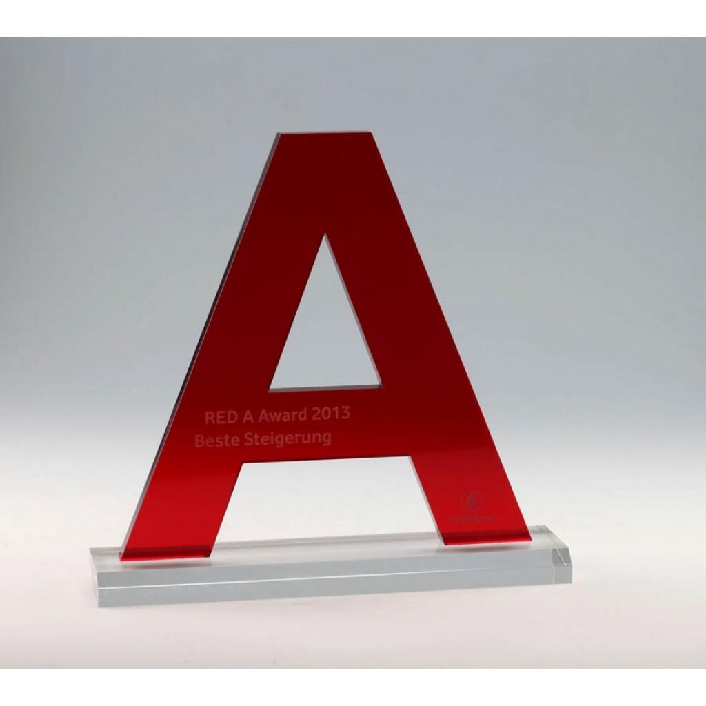 Acryl Award Pokal Sonderausführung