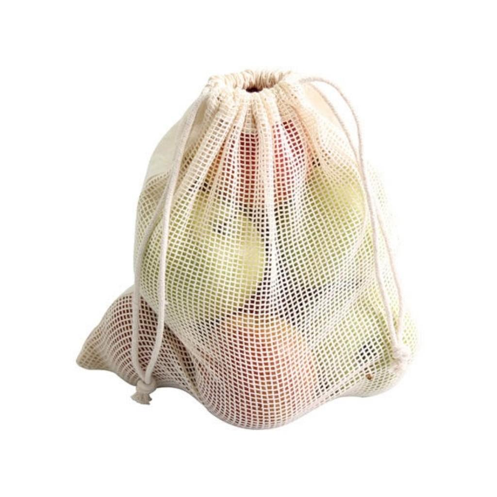 Food Bag wiederverwendbar 100% Baumwolle mit Werbung neu