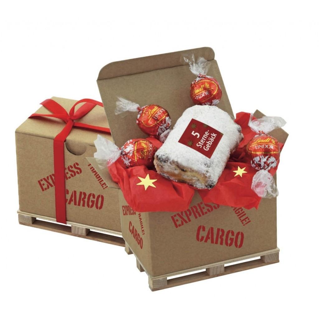 Palettencontainer Weihnachtsstollen Cargo Box 1