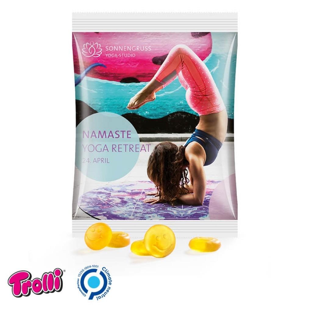 Fruchtgummi mit Werbung 50g