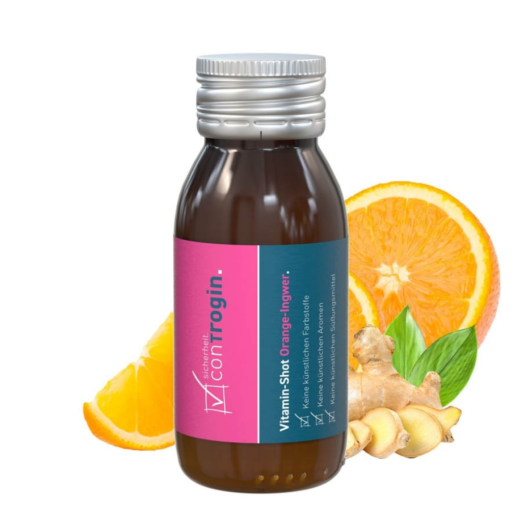 Vitamin-Shot Orange-Ingwer NEU