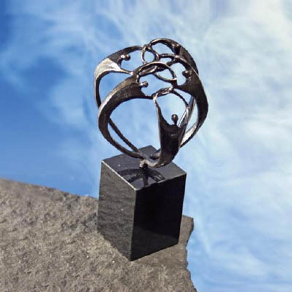 Skulptur 'Zusammenhalt'