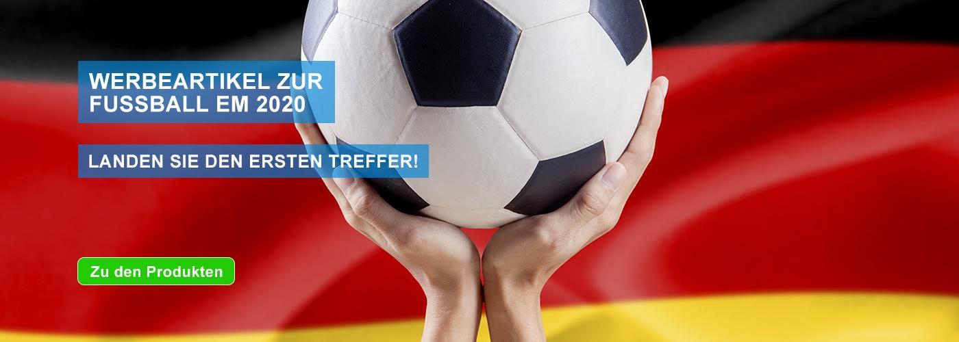 Werbeartikel Fussball EM 2020