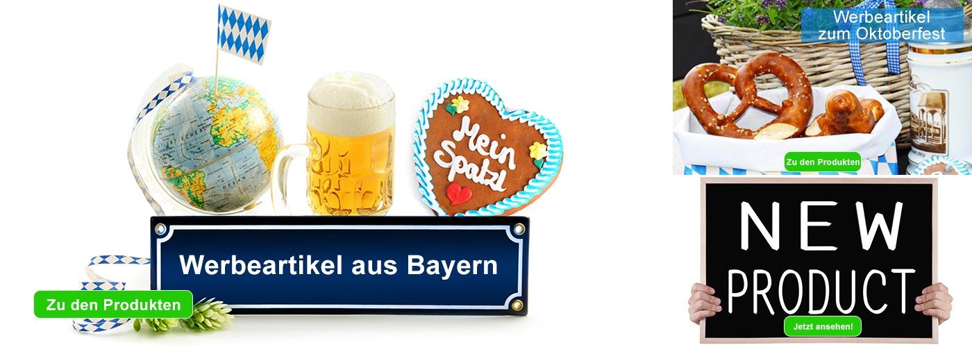 Werbeartikel aus Bayern