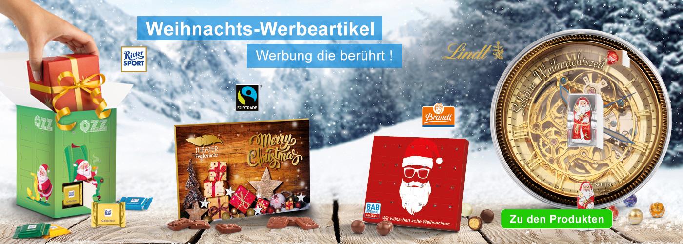 Werbeartikel Weihnachten